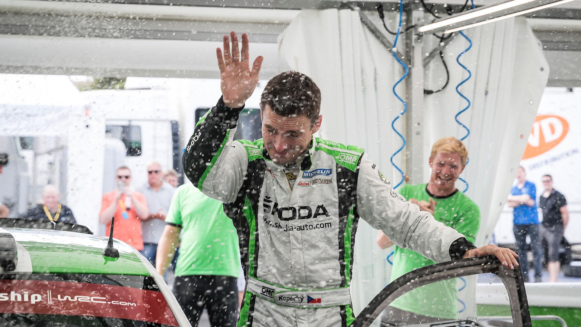 Jan Kopecký, ŠKODA FABIA R5, ŠKODA Motorsport. RallyRACC Catalunya - Costa Daurada 2016