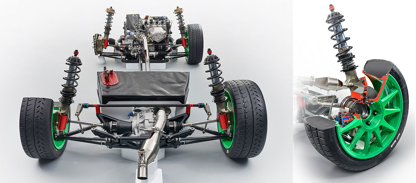 ŠKODA FABIA R5 - Chassis et suspension