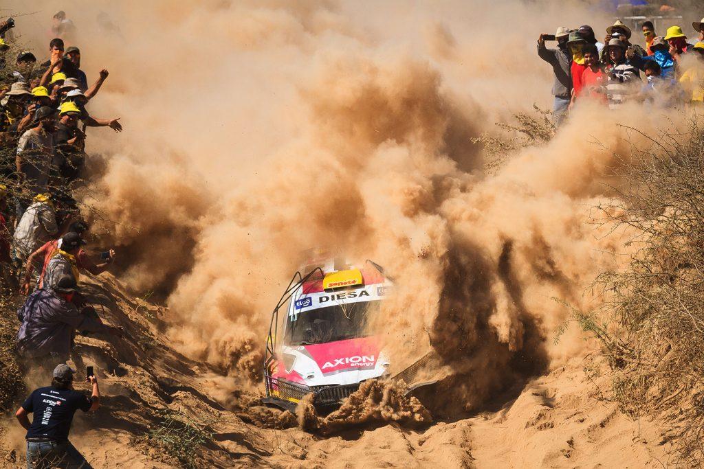 Gustavo Saba / Fernando Mussano, ŠKODA FABIA R5. Rallye Transchaco 2017