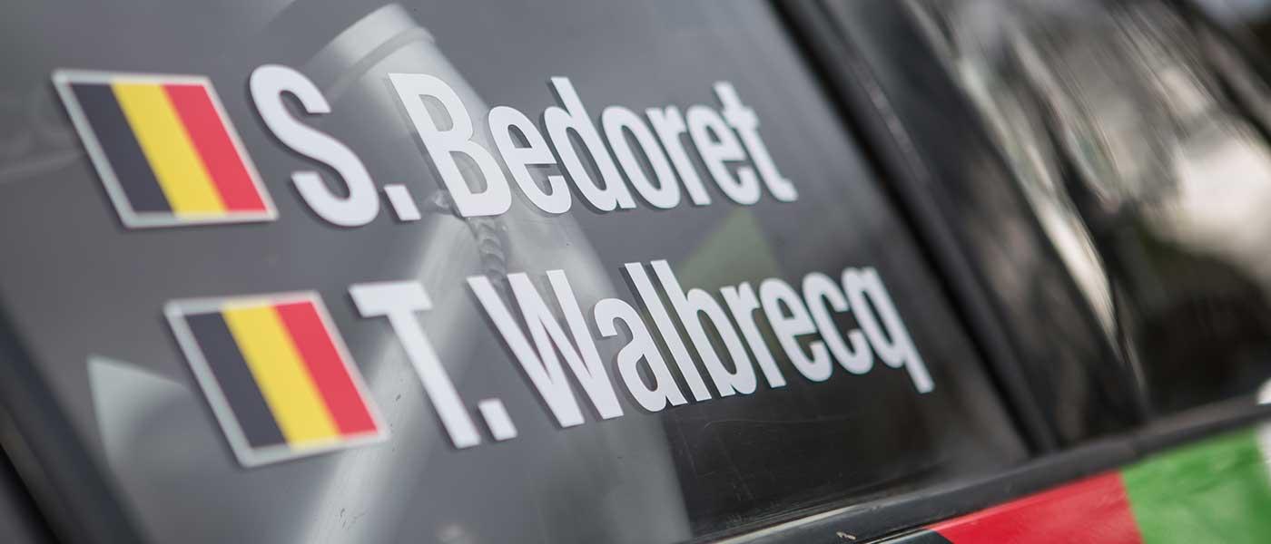 Sébastien Bedoret zet zijn leerproces met de ŠKODA verder in de Rallye de Wallonie