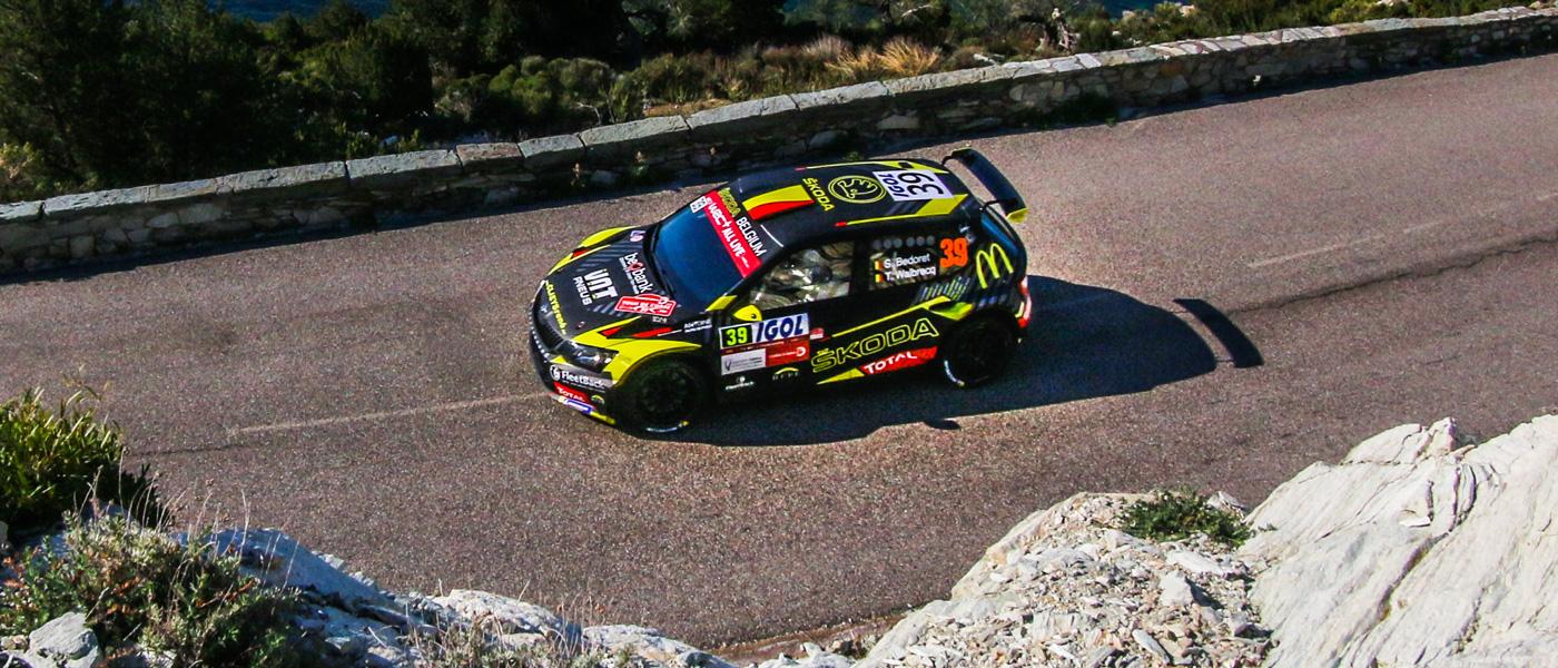 Eerste WRC2-punten voor Sébastien Bedoret in de Tour de Corse