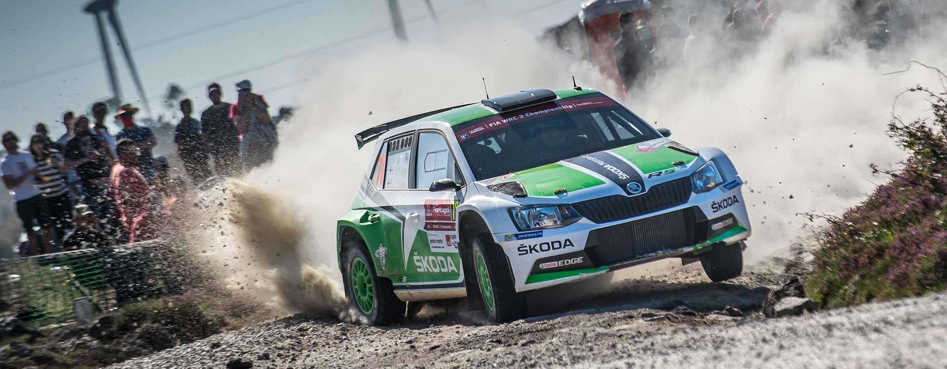 Two podium positions: ŠKODA celebrates brilliant WRC debut with the Fabia R5