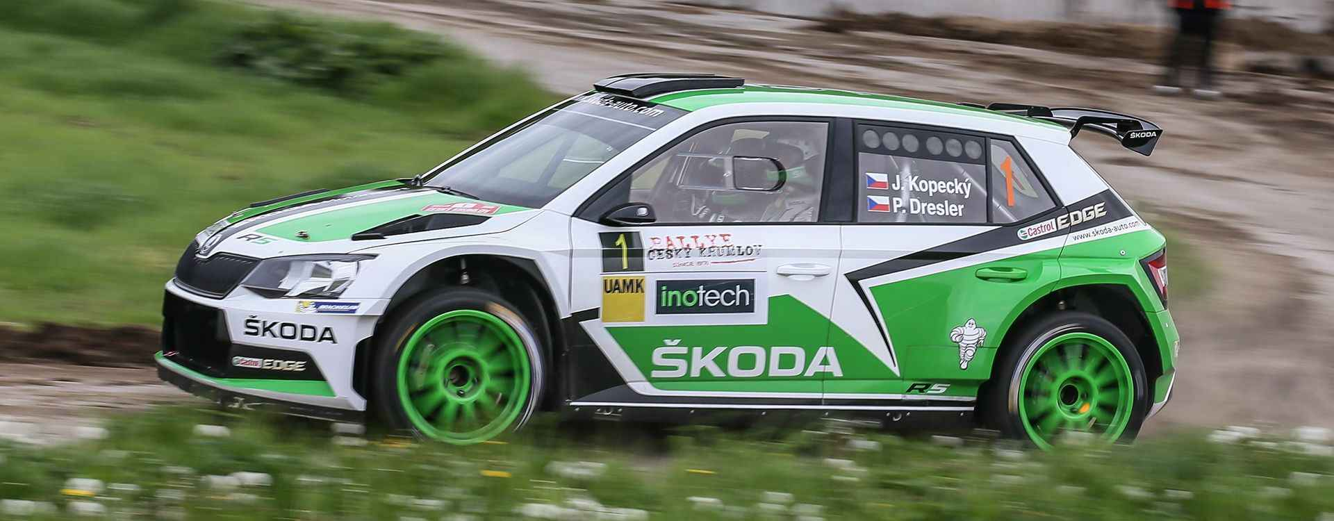 Rallye Krumlov 2015 – Jan Kopecký's Battle of Titans