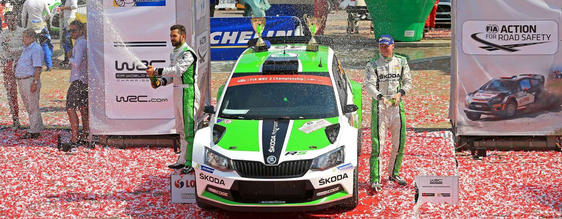 Graceful ride goes on: Lappi won the Rally Poland