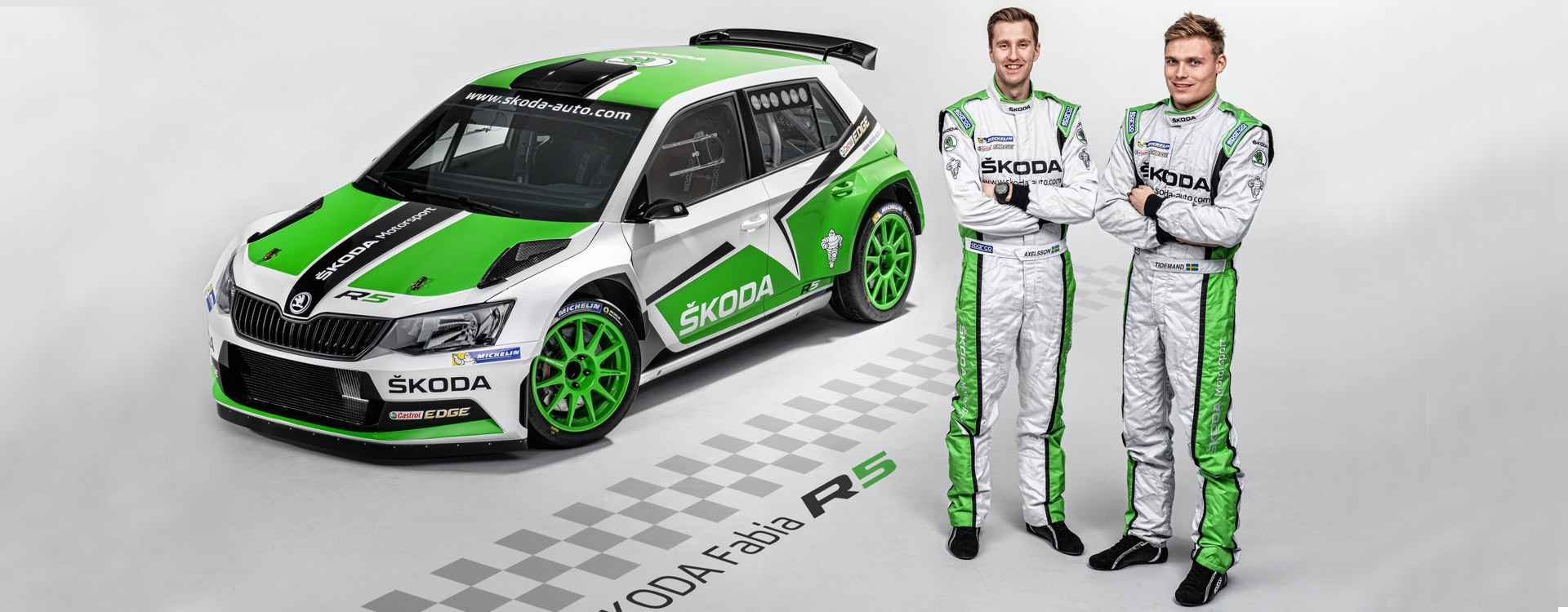 Rally China: Asian premiere for ŠKODA Fabia R5