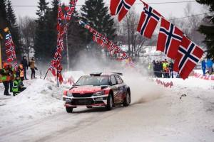 Hubert Ptaszek / Maciej Szczepaniak, ŠKODA FABIA R5, The Ptock. Rally Sweden 2016