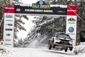 Teemu Suninen / Mikko Markkula, ŠKODA FABIA R5, Team Oreca. Rally Sweden 2016