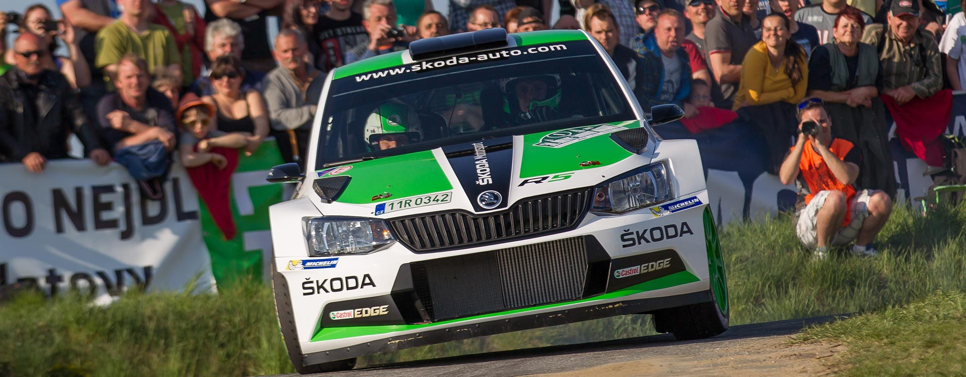 Rallye Šumava: ŠKODA Motorsport starts its campaign in the Czech championship