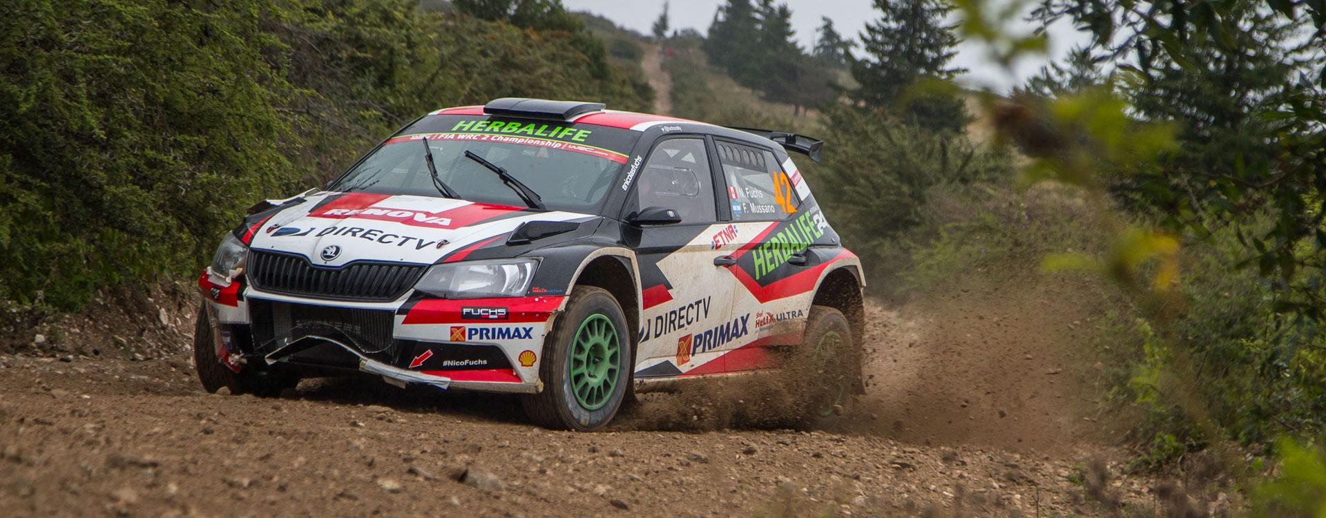 WRC Argentina: Three ŠKODA customer teams taking on the tough terrain