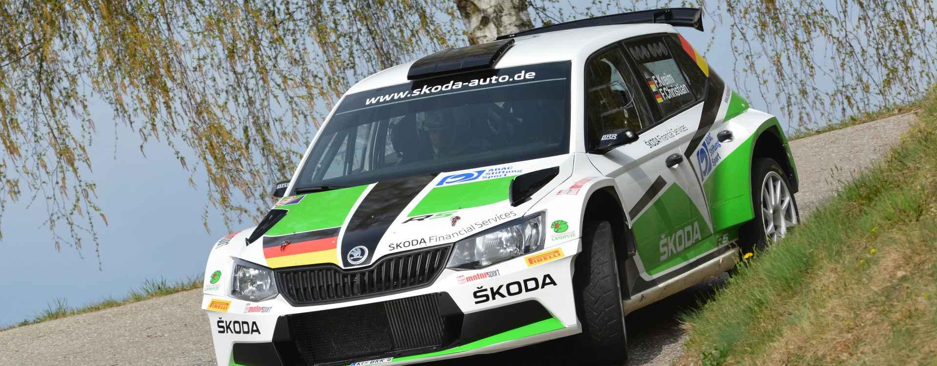 FOTO: Dvojnásobné vítězství Fabie R5 na Lavanttal Rallye