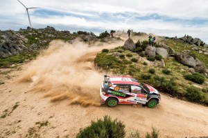 Nicolás Fuchs / Fernando Mussano, ŠKODA FABIA R5. Rally de Portugal 2016