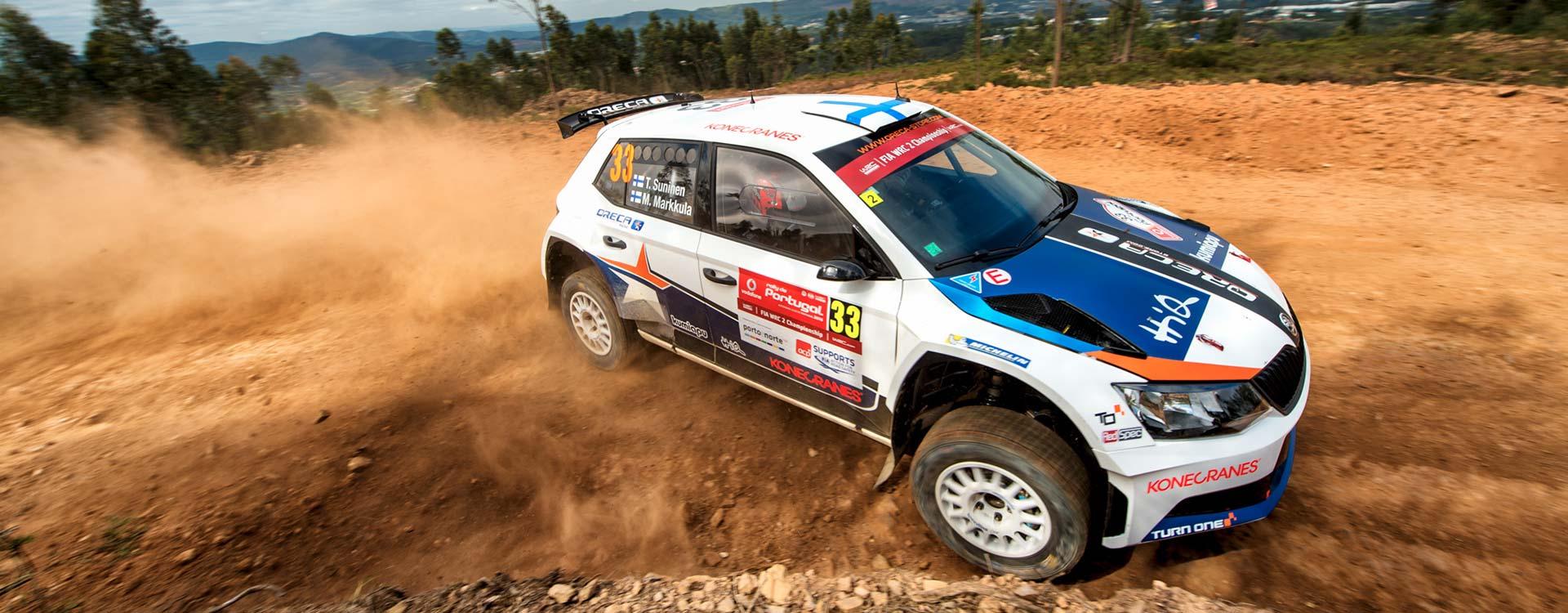 PHOTO: ŠKODA Customer Teams at the Rally de Portugal