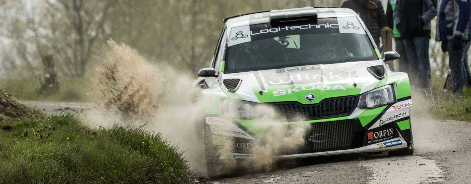 PHOTO: Fourth win in row for Loix at the Rallye de Wallonie