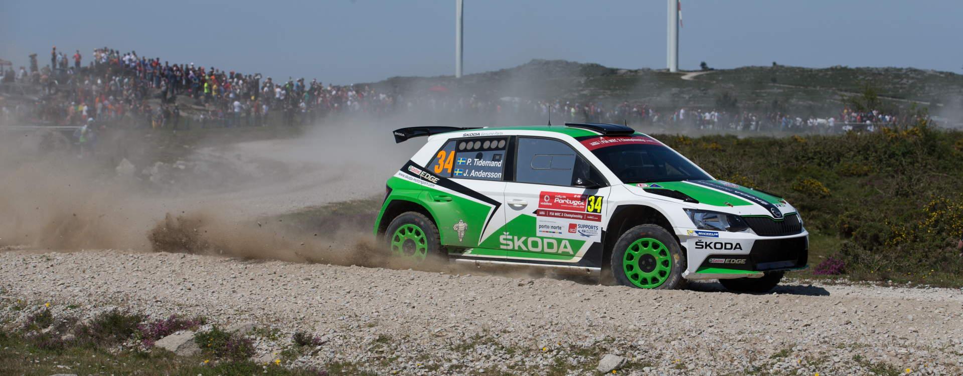 Skvělý výkon vynesl Pontuse Tidemanda v Portugalsku do vedení