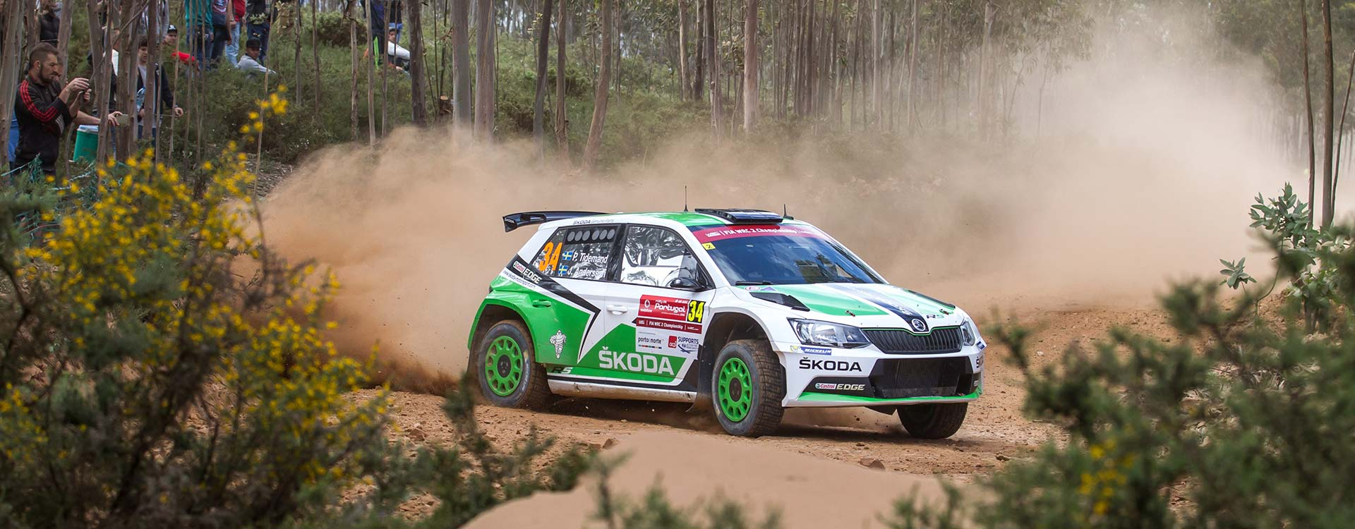 PHOTO: ŠKODA Motorsport at the Rally de Portugal