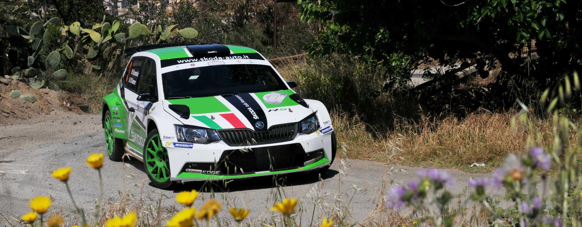 PHOTO: Podium result for ŠKODA Italia Motorsport at the Targa Florio