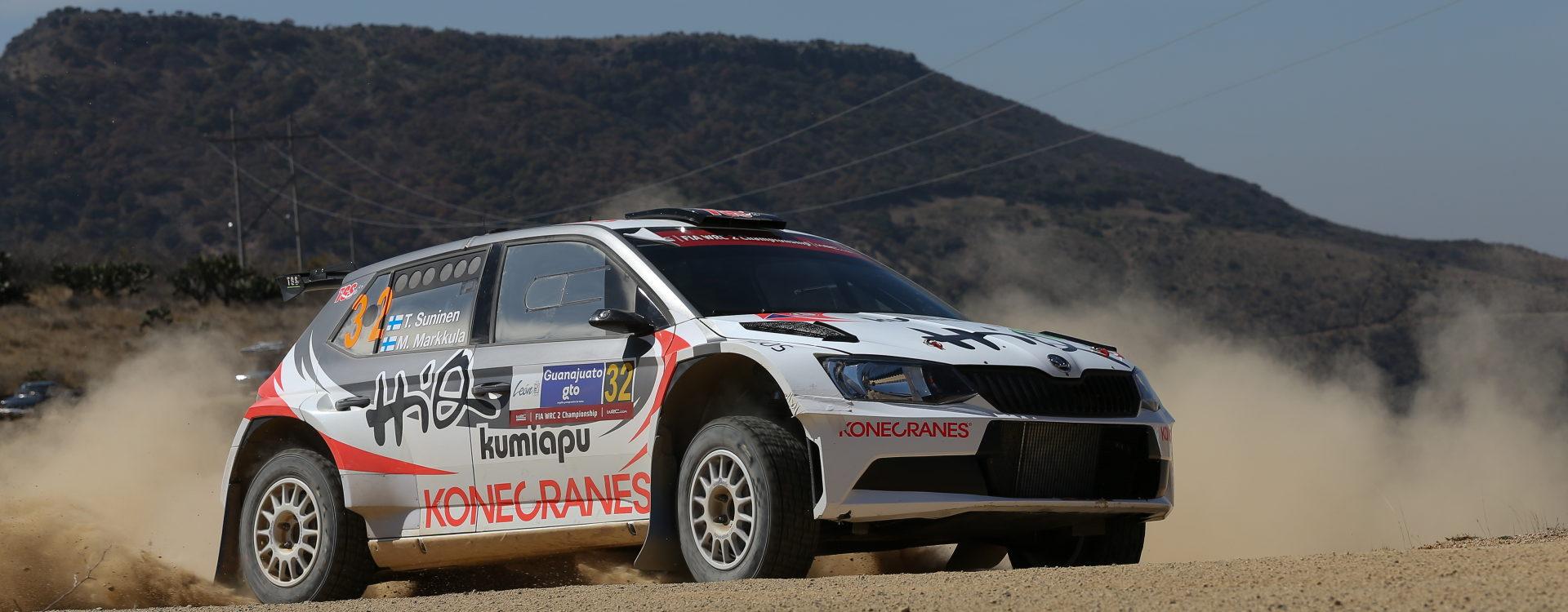 Na start Portugalské rally se postaví deset vozů ŠKODA Fabia R5