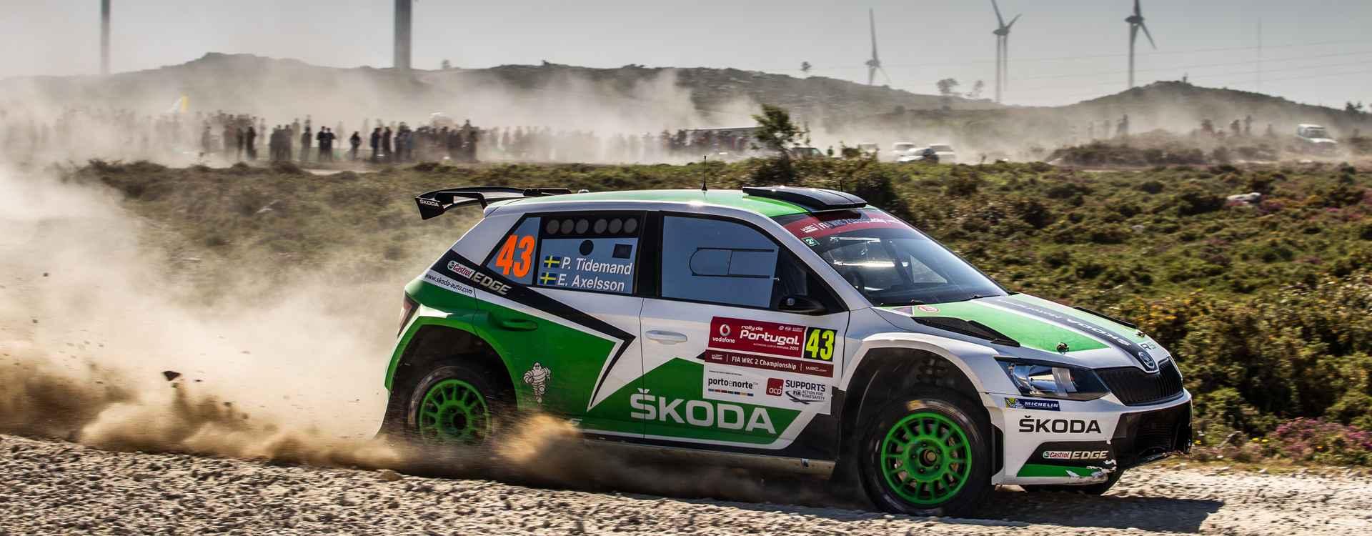 V Portugalsku vstupuje ŠKODA Motorsport do další náročné části MS rally