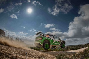 Jan Kopecký / Pavel Dresler, ŠKODA Fabia R5, ŠKODA Motorsport. Rally Italia Sardegna 2016