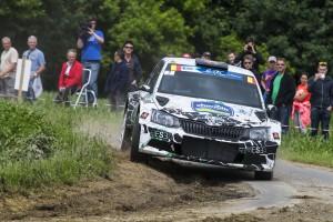 Jaromír Tarabus/Daniel Trunkát, ŠKODA Fabia R5, T&T Czech National Team. Ypres Rally 2016