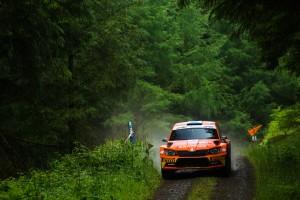 David Bogie/Kevin Rae, ŠKODA Fabia R5, CA1 Sport. Scottish Rally 2016