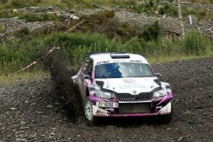 Thomas Preston/Jack Morton, ŠKODA Fabia R5, CA1 Sport. Scottish Rally 2016
