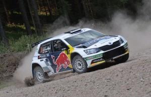 Raimund Baumschlager/Thomas Zeltner, ŠKODA Fabia R5, BRR Baumschlager Rallye & Racing. Schneebergland Rallye 2016. Photo: BRR/Harald Illmer