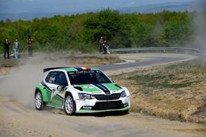Dan Gîrtofan/Tudor Mârza, ŠKODA Fabia R5, ŠKODA Romania Motorsport. Raliul Sibiului 2016. Photo: Adrian Torjoc & Bogdan Barabas