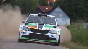 Fabian Kreim/Frank Christian, ŠKODA Fabia R5, ŠKODA AUTO Deutschland. Rallye Stemweder Berg 2016