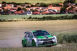 Jan Kopecký / Pavel Dresler, ŠKODA FABIA R5, ŠKODA Motorsport. Rally Hustopeče 2016
