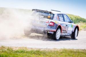 Tomáš Kukučka / Peter Vejačka, ŠKODA FABIA R5, KL Racing Team. Rally Hustopeče 2016