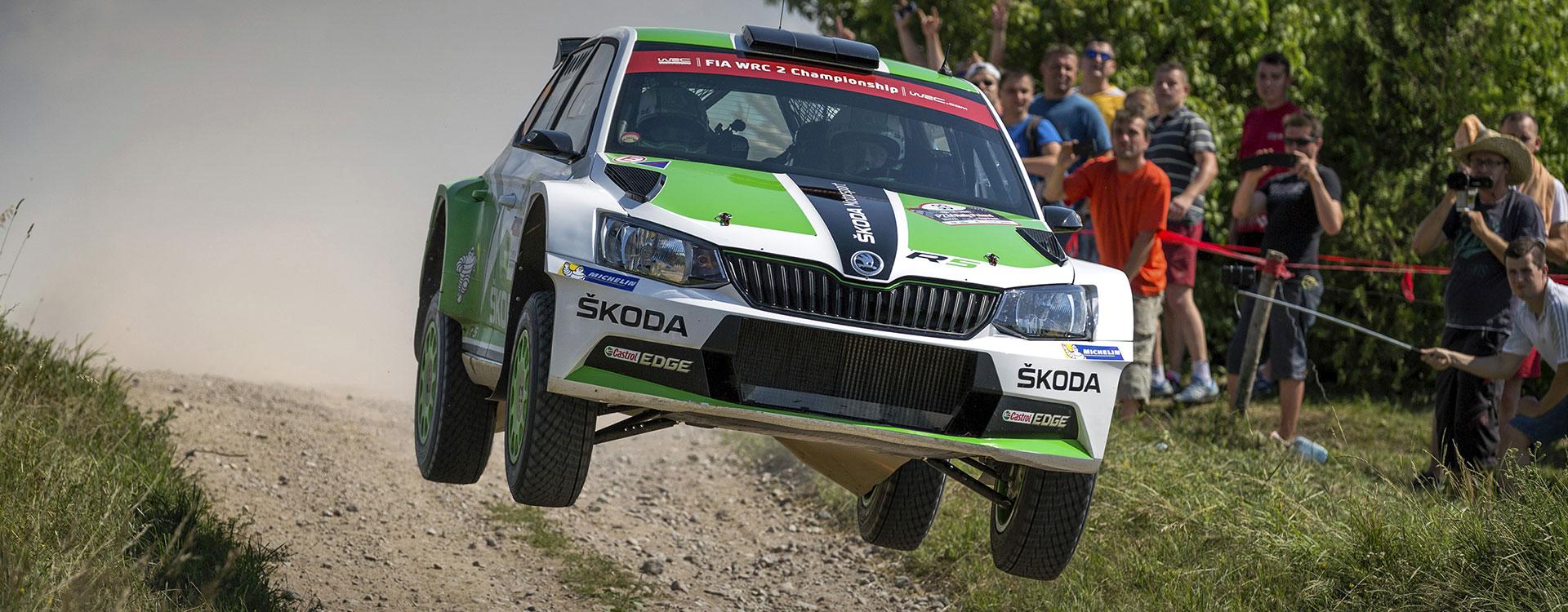 PHOTO: ŠKODA Motorsport at the Rally Poland