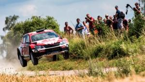 Scott Pedder / Dale Moscatt, ŠKODA Fabia R5, Scott Pedder. Rally Poland 2016