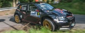 Jan Kopecký / Pavel Dresler, ŠKODA Fabia R5, ŠKODA Motorsport. Rally Bohemia 2016