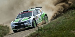 Esapekka Lappi / Janne Ferm, ŠKODA Fabia R5, ŠKODA Motorsport. Rally Poland 2016