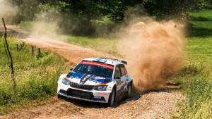 Teemu Suninen / Mikko Markkula, ŠKODA Fabia R5, Team Oreca. Rally Poland 2016