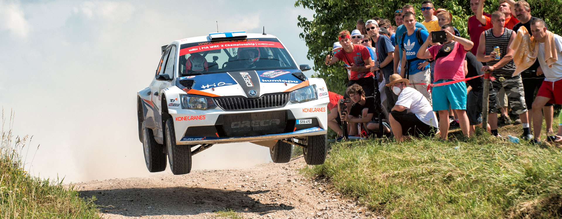 Dramatic battle for first place: ŠKODA thrills fans at the Rally Poland
