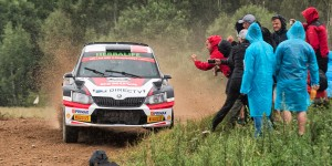 Nicolás Fuchs / Fernando Mussano, ŠKODA Fabia R5, Nicolás Fuchs. Rally Poland 2016