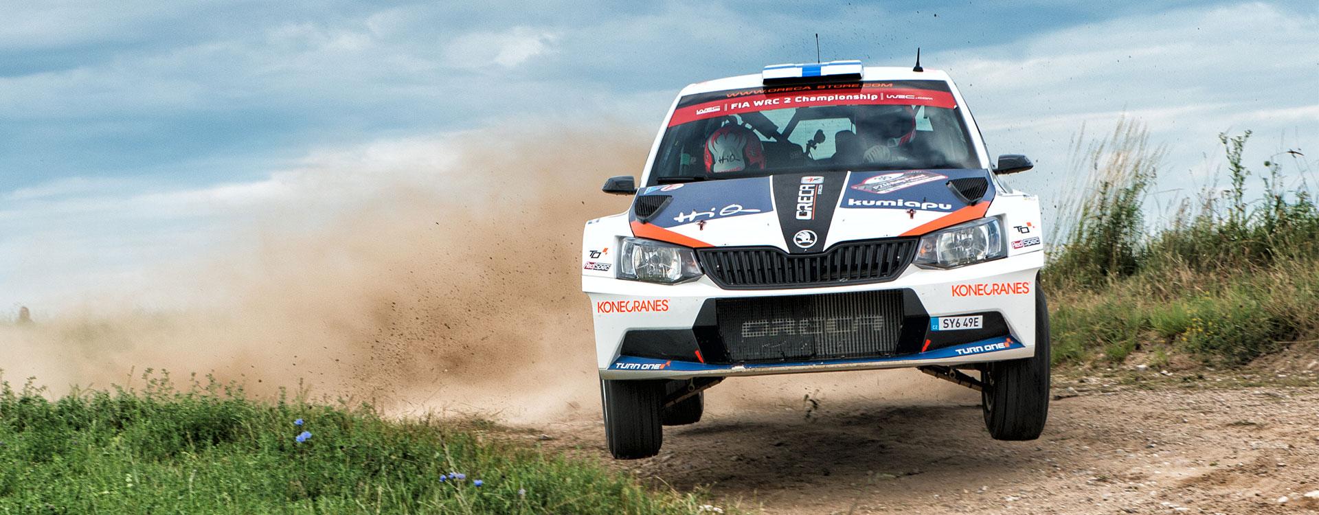 WRC Polsko: Zákaznická týmy ŠKODA znovu poutaly pozornost