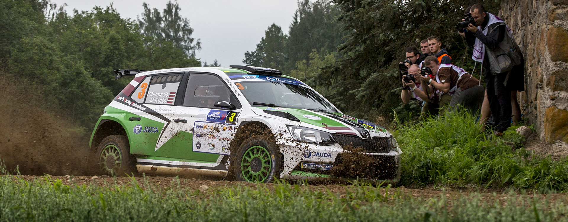 PHOTO: ŠKODA Customer Teams at the Rally Estonia 2016