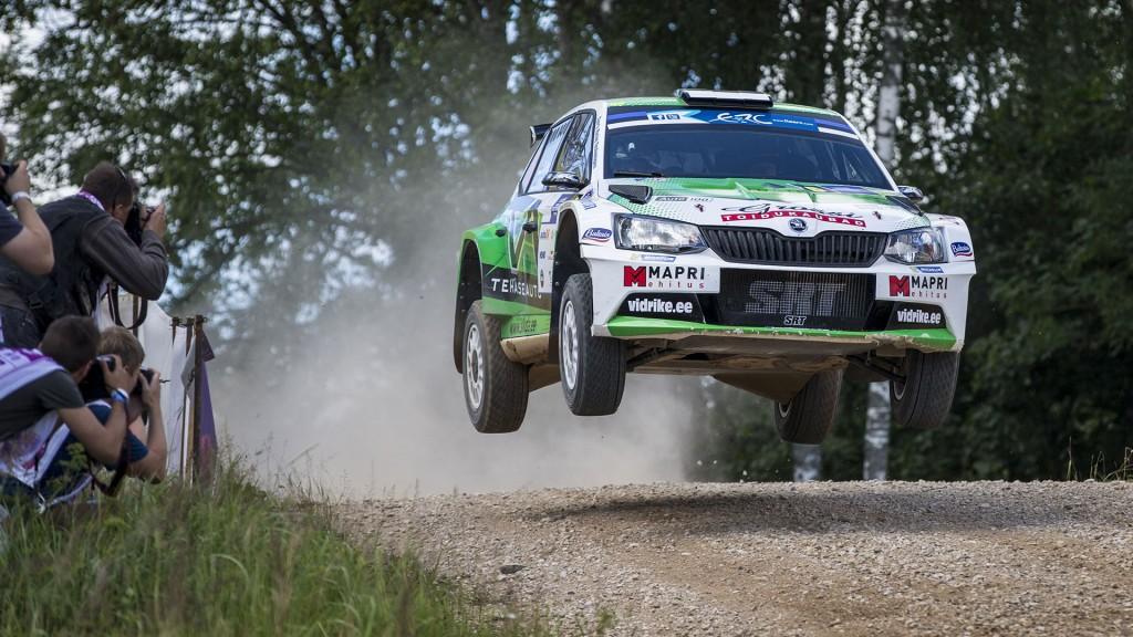 Raul Jeets / Toom Andrus, ŠKODA Fabia R5, Sports Racing Technologies. Rally Estonia 2016