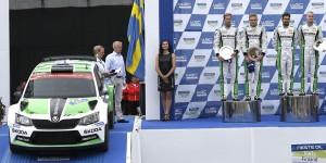 Esapekka Lappi / Janne Ferm & Pontus Tidemand / Jonas Andersson, Rally Finland 2015