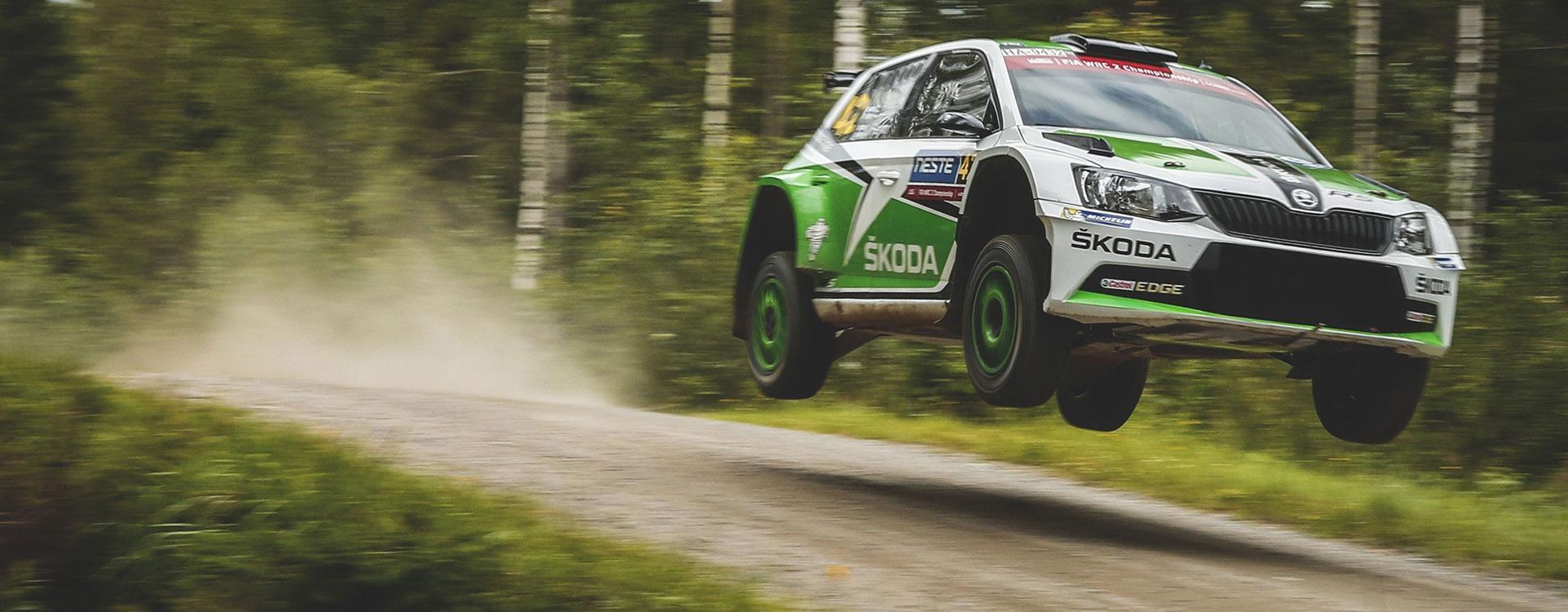WRC Finland: Long jumps, high speed, just rally classic