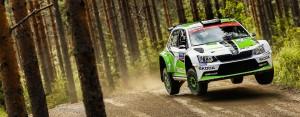 Esapekka Lappi / Janne Ferm, ŠKODA Fabia R5, ŠKODA Motorsport. Rally Finland 2015