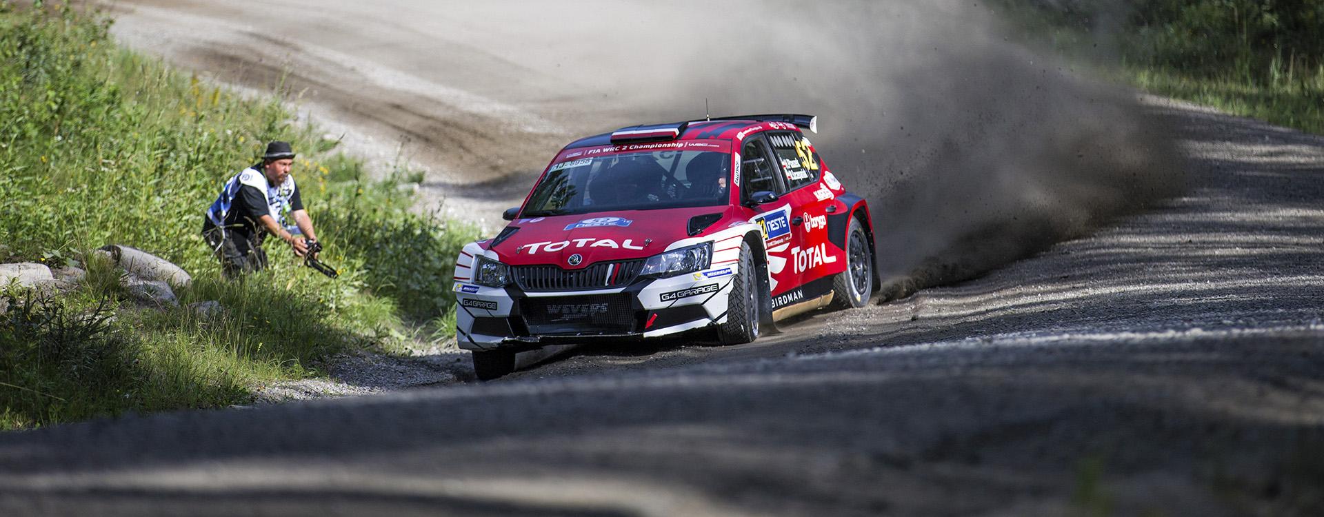 FOTO: Zákaznické týmy ŠKODA na Finské rally 2016