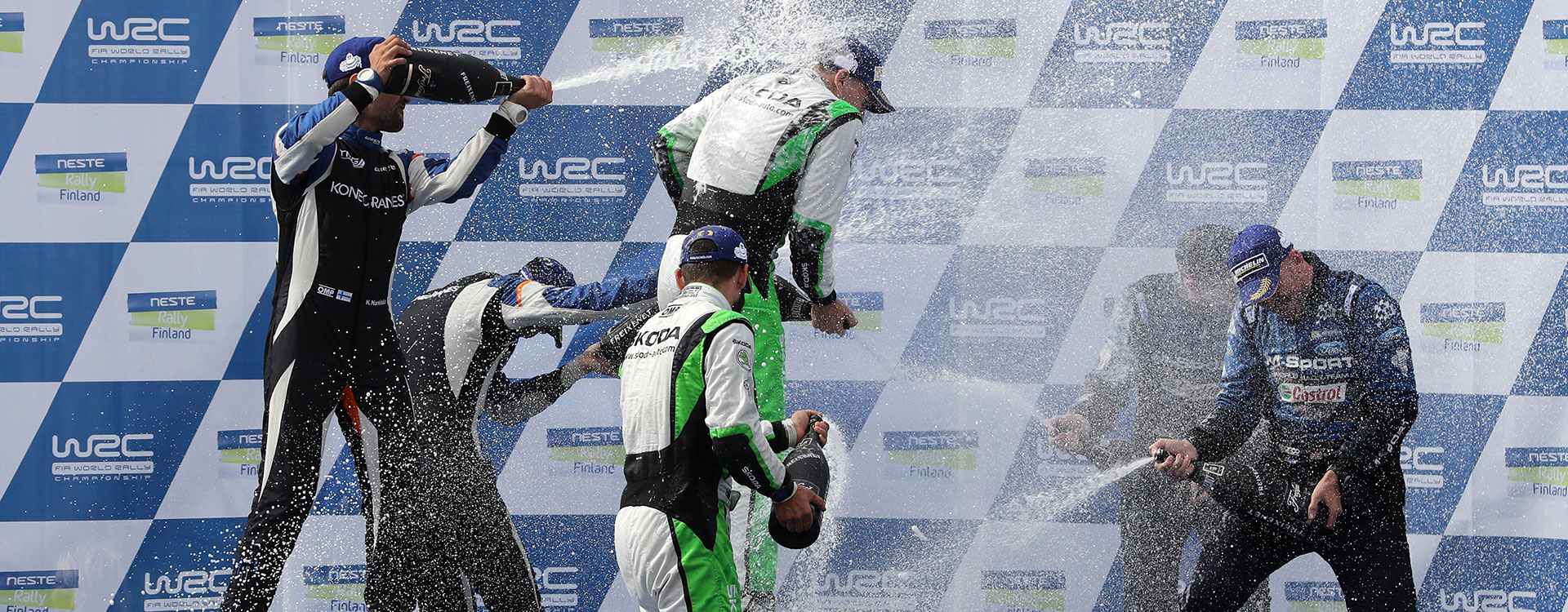 Victory in Finland: Lappi / Ferm extend winning sequence for ŠKODA