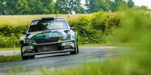 Sylvain Michel / Lara Vanneste, ŠKODA Fabia R5, 2C Yacco. Rallye du Limousin 2016