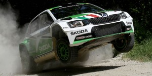 Umberto Scandola / Guido D'Amore, ŠKODA Italia Motorsport. San Marino Rally 2016