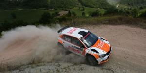 Denis Colombini / Michele Ferrara. San Marino Rally 2016 (Photo: Acisport)