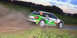 Fabian Kreim / Frank Christian, ŠKODA AUTO Deutschland. Stemweder Berg Rallye 2016